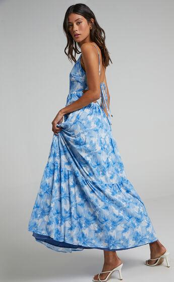 Dasia Dress in Cloudy Floral