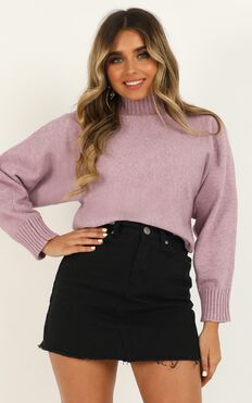 More Than Ever Before Knit In Lilac Marle