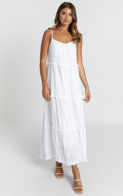 Coastal Breeze Dress in white - 14 (XL), White, hi-res image number null