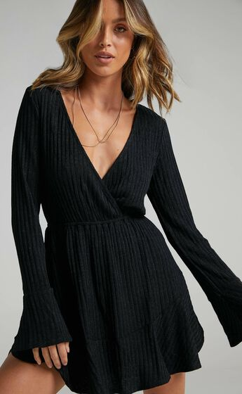 The Next Step Dress in Black