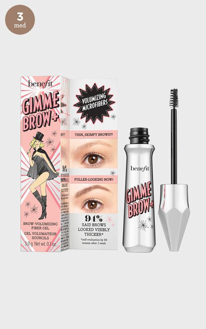 Benefit Cosmetics - Gimme Brow + Shade 3, Brown, hi-res image number null
