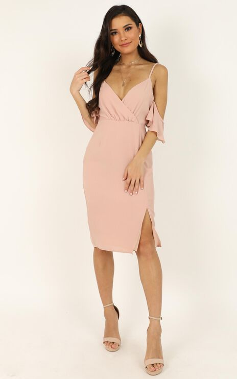 When I Fall in Love Dress In Blush