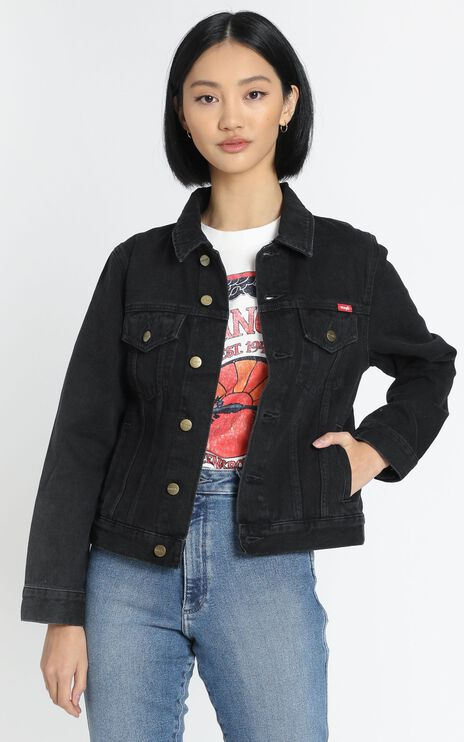 Wrangler - Classic Denim Jacket in Starr Stone