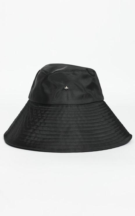 Peta and Jain - Bryton Bucket Hat in Black Nylon