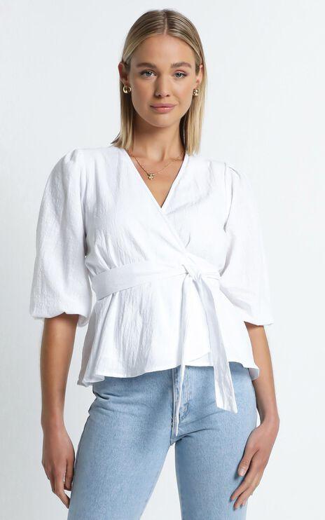 Kaylah Top in White