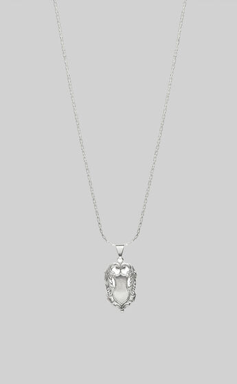 KITTE - AMULET NECKLACE in Silver