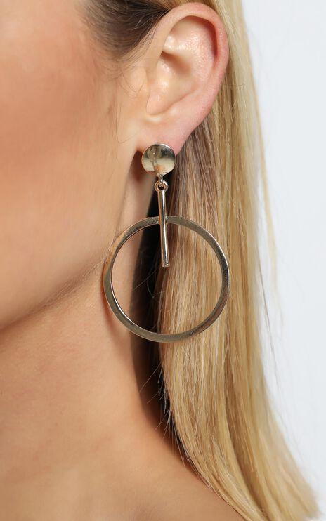 Harrison Earrings in Gold