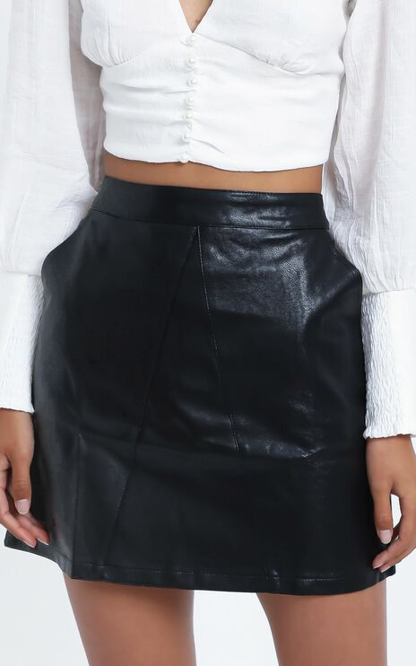 August Skirt in Black