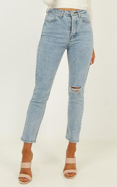 Jessie Jeans in light blue denim