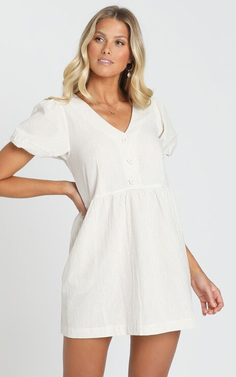 Irreplaceable Me Dress In Sand
