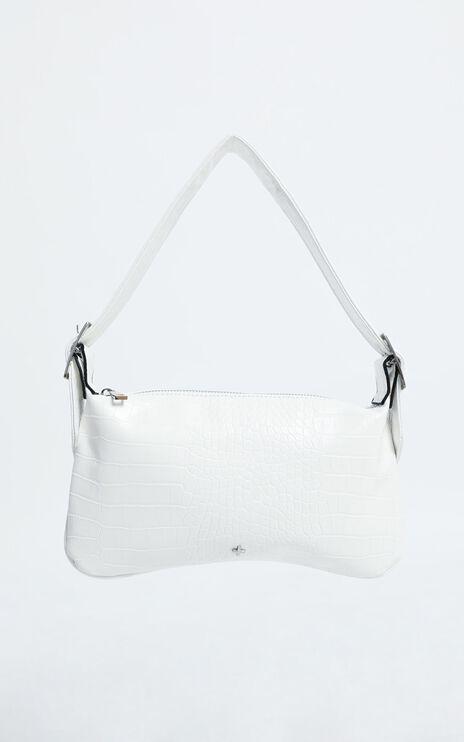 Peta and Jain - Salem Bag in White Croc