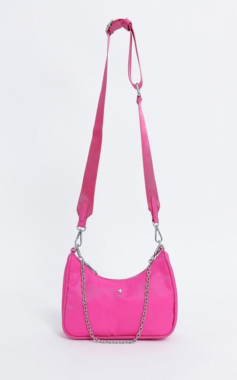 Peta and Jain - Paloma Bag in Hot Pink Nylon