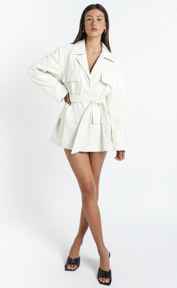 Lioness - Victory Boulevard Mini Dress in White