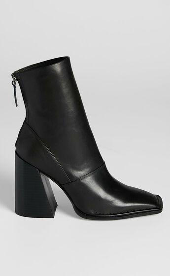Alias Mae - Eden Boots in Black Burnished