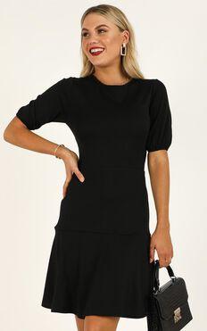 Final Proposal Dress In Black