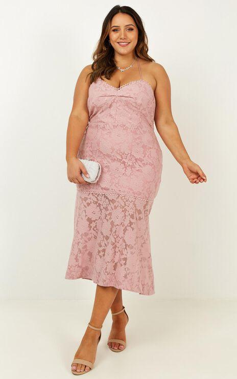 Endless Loving Dress In Blush