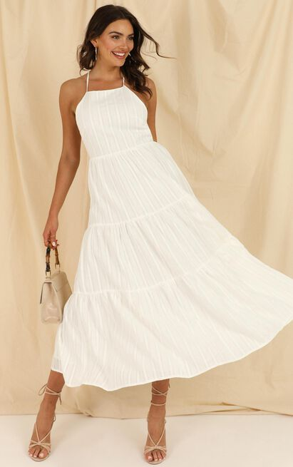 Missing Pieces Dress in  white - 20 (XXXXL), White, hi-res image number null