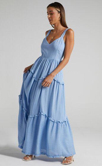 Sakura Dress in Periwinkle Blue