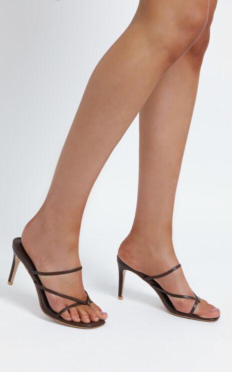Billini - Kasey Heels in Chocolate