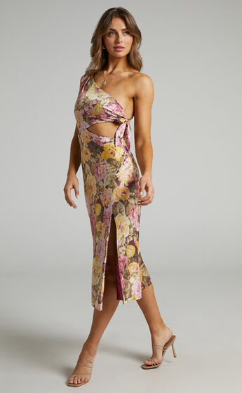 Glaucus Dress in Classic Floral