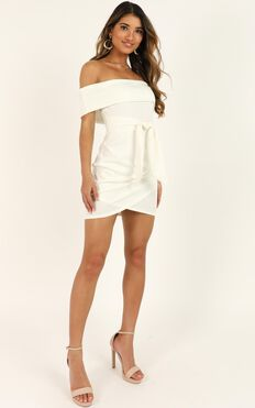 Look To The Future Dress In White