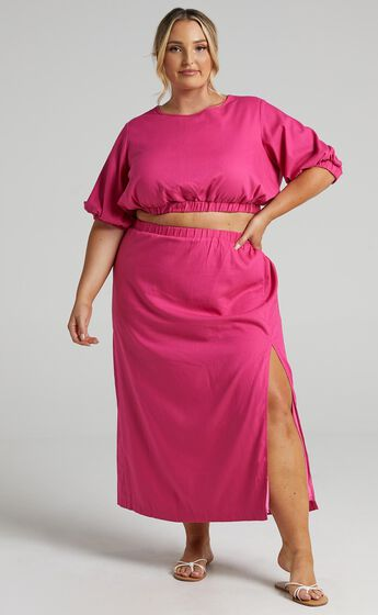 Asta Two Piece set in Pink