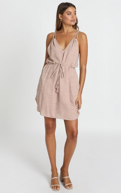 Cecelia Dress in beige - 12 (L), Beige, hi-res image number null