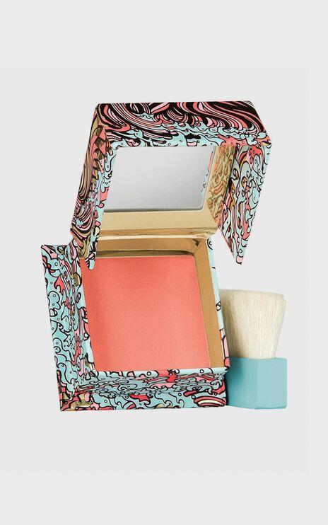 Benefit Cosmetics - Galifornia Powder Blush Mini in Sunny Golden Pink