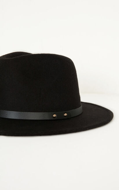 Have You Heard hat in black, , hi-res image number null