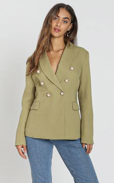 Lioness - The Kendall Blazer In Pistachio
