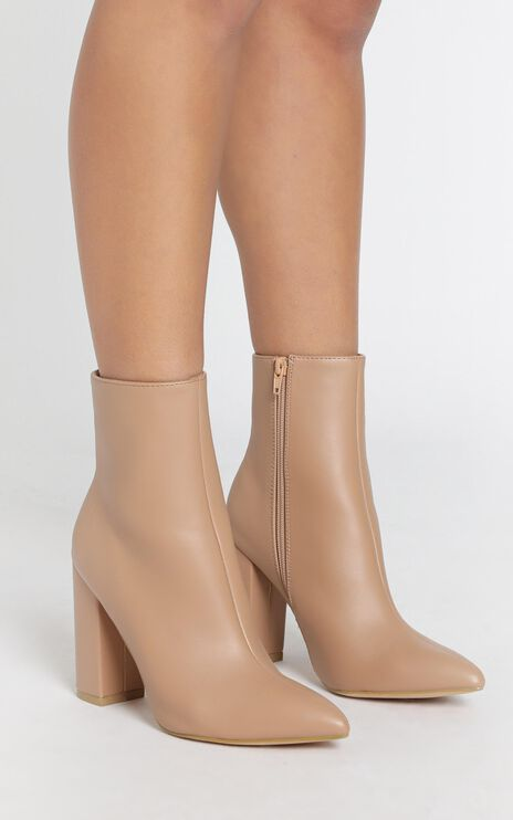 Verali - Dawson Boots in Latte Smooth