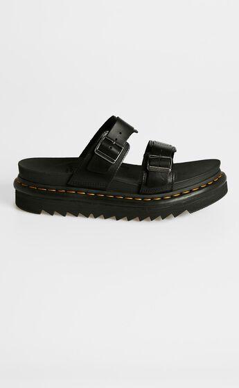 Dr. Martens - Myles Slide Sandal in Black