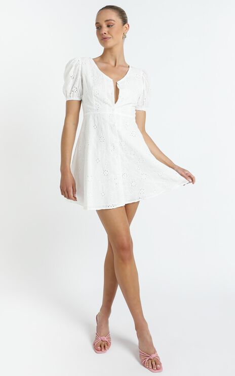 Walsh Dress in White