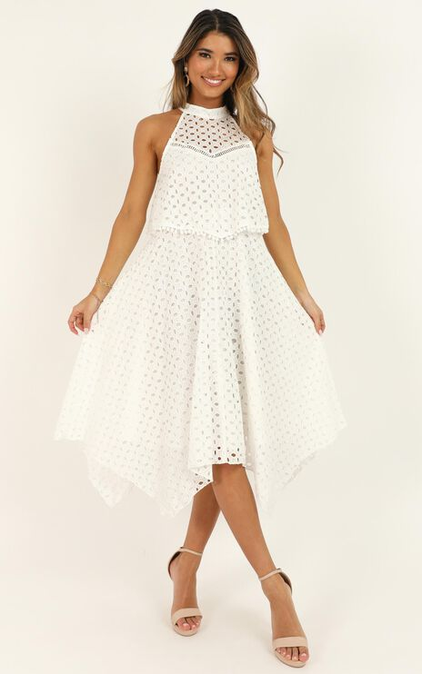 You May Say Im A Dreamer Dress In White