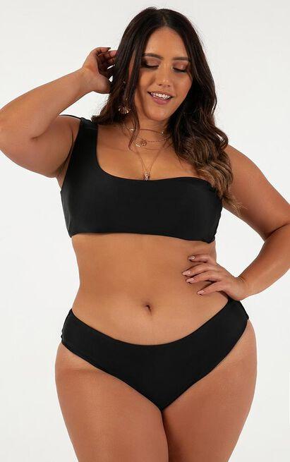 Jasmine Bikini Bottom in black - 14 (XL), Black, hi-res image number null