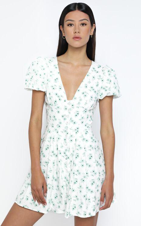 Dovie Dress in Sage Floral