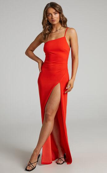 Karalea Maxi Dress in Red