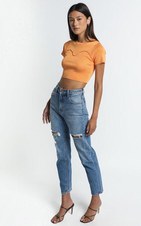 Havana Top in Orange