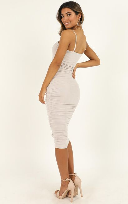 Commit To Me Maxi Dress in stone - 20 (XXXXL), Cream, hi-res image number null
