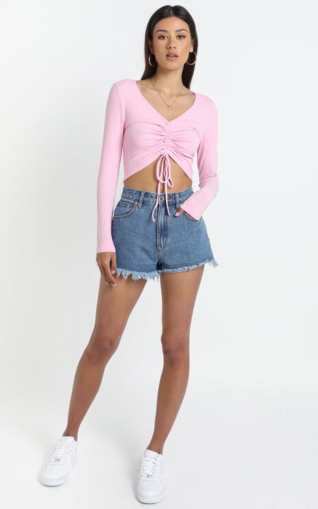 Eleanora Top in Pink
