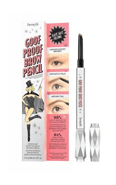 Benefit Cosmetics - Goof Proof Brow Pencil - Shade 6