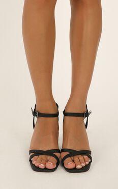 Verali - Geri Heels In Black
