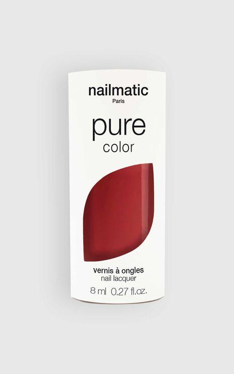 Nailmatic - Pure Color Anouk Nail Polish in Rosewood Brick
