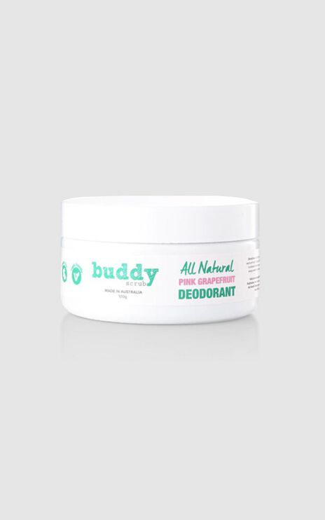 Buddy Scrub - Natural Deodorant in Pink Grapefruit