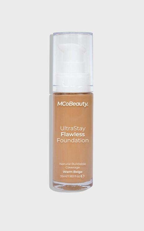 MCoBeauty - Ultra Stay Flawless Foundation - Warm Beige