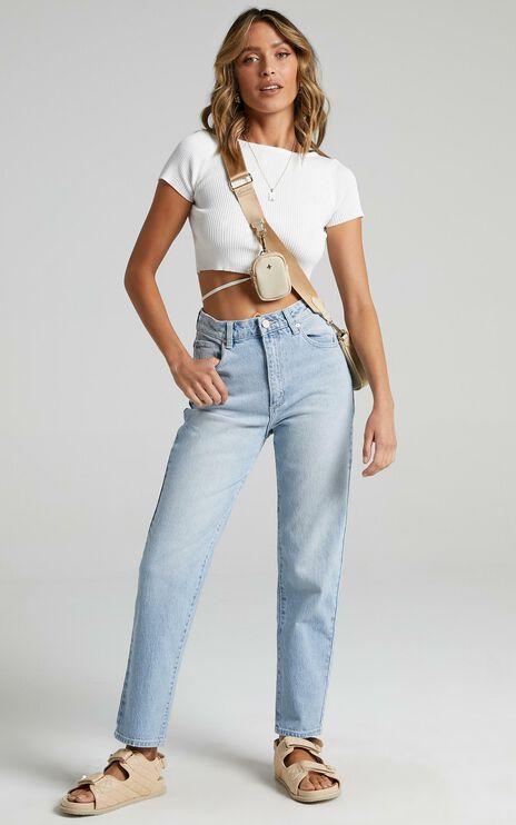 Abrand - A 94 High Slim Jean in Gina
