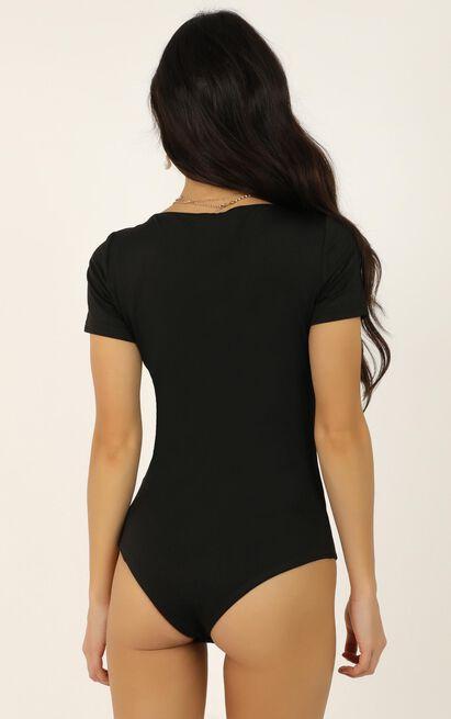 Walk Of Fame bodysuit In black - 12 (L), Black, hi-res image number null