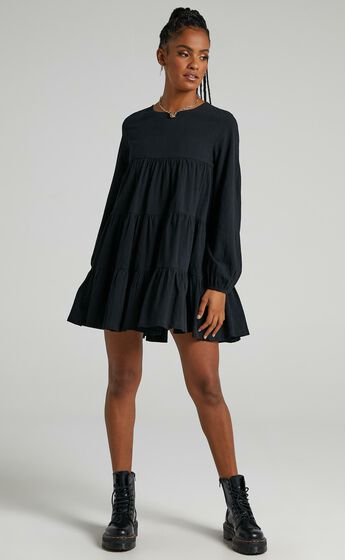 Toulouse Dress in Black
