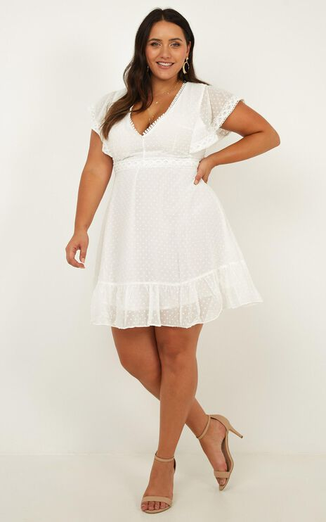 Once Upon A Daydream Dress In White