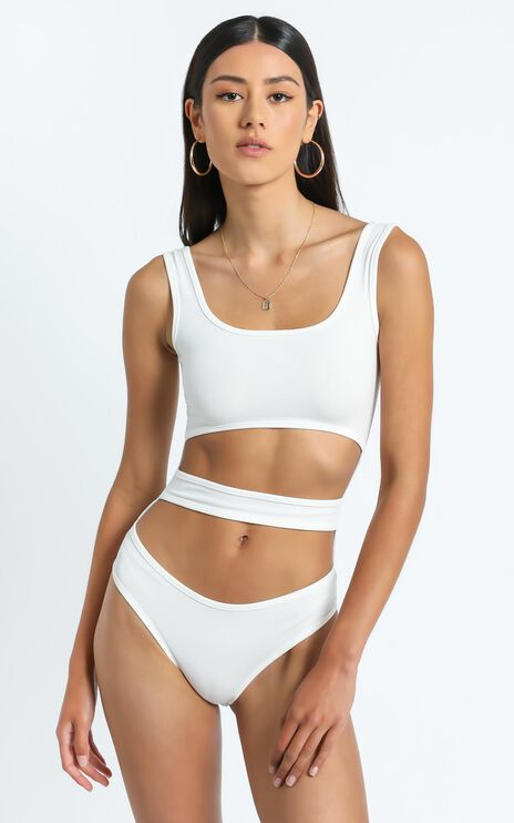 Elisa Bodysuit in White